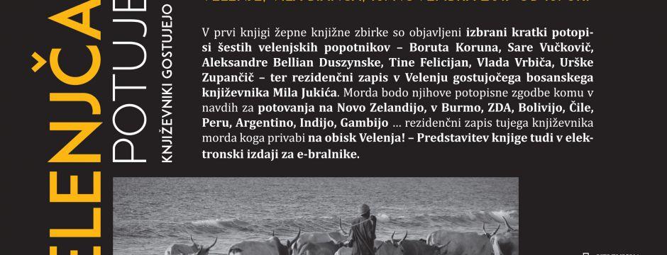Predstavitev žepne knjige kratkih potopisov velenjskih popotnikov Velenjčani potujejo, književniki gostujejo v Velenju (16. 11. 2017)