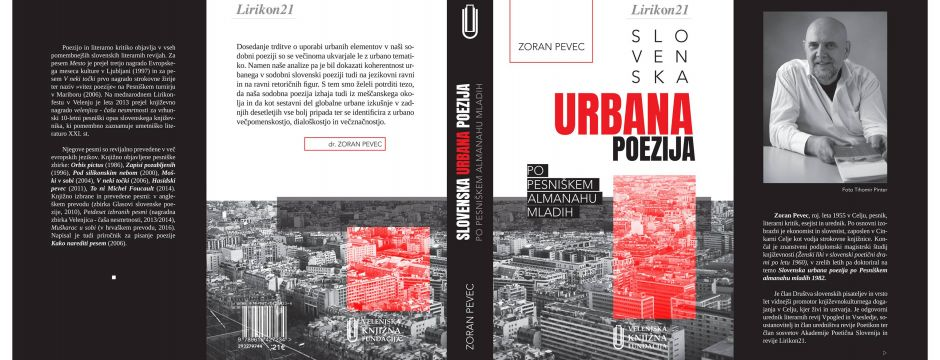 Noč knjige: predstavitev monografije dr. Zorana Pevca Slovenska urbana poezija po Pesniškem almanahu mladih (Celje, 23. 4. 2018)