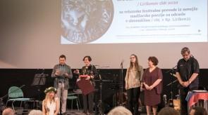 Podelitev prevajalskega priznanja Lirikonov zlat 2020 Gabrielli Gaál